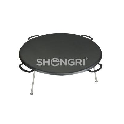 Three-legged Compfire Griddle BBQ / Outdoor Cooking Fry Pan