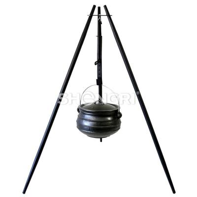 Cooking Tripod with Height Adjustment